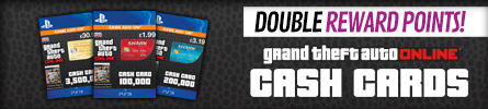 GTA Shark Cards with Double Reward Points at GAME.co.uk
