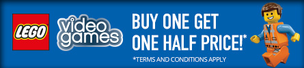 Buy One Get One Half Price on selected LEGO Video Games -  at GAME.co.uk!