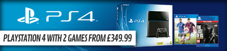 Playstation 4 Consoles with Double Reward Points - at GAME.co.uk!