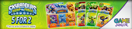 Skylanders 5 for 2 - at GAME.co.uk!