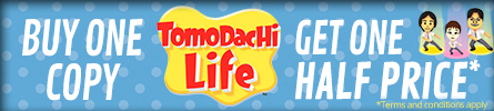 Tomodachi Life Buy one get one half price at GAME.co.uk!