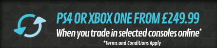 PS4 or Xbox One from £249.99 - at GAME.co.uk