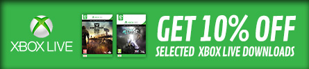 Get 10% Off Selected Xbox Live Downloads - at GAME.co.uk