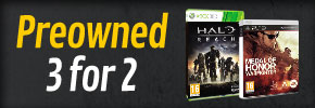 Preowned 3 for 2 - at GAME.co.uk!