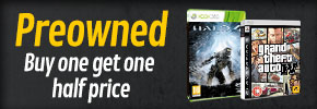 Preowned Buy One Get One Half Price - at GAME.co.uk!
