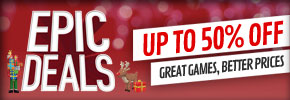Epic Deals 50% Off - at GAME.co.uk!