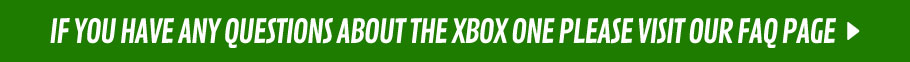 Xbox One FAQs - at GAME.co.uk