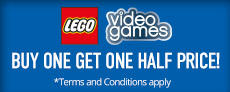 LEGO Buy One Get One Half Price - at GAME.co.uk