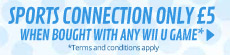 Sports Connection only £5 when bought with any Wii U game - Terms and Conditions Apply - at GAME.co.uk