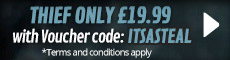 Get Thief for only £19.99 - at GAME.co.uk