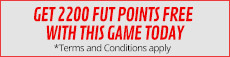 Get 2200 FUT points Free with this Game Today - at GAME.co.uk. Terms and Conditions apply