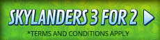 3 for 2 On Skylanders Characters - at GAME.co.uk