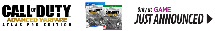 Call of Duty: Advanced Warfare Atlas Pro Edition - Preorder Now at Game.co.uk