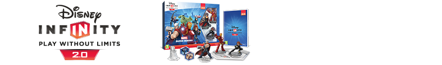 Disney Infinity 2.0 Marvel Super Heroes - Preorder Now at GAME.co.uk