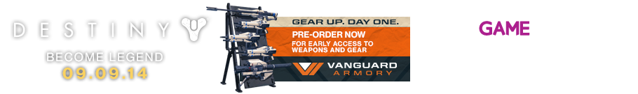 Vanguard Edition on Destiny Only at GAME - Preorder Now at Game.co.uk