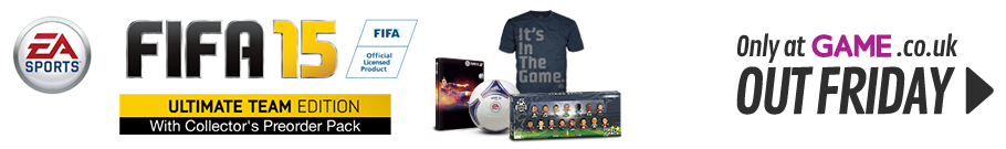 FIFA 15 Ultimate Team Edition with Collector's Preorder Pack - Only at GAME - Preorder Now at GAME.co.uk