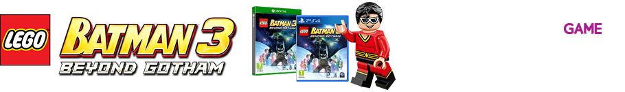 LEGO Batman 3 - Preorder Now at Game.co.uk