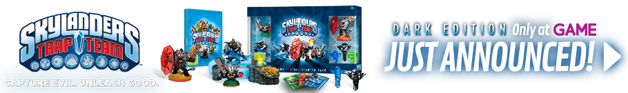 Skylanders Trap Team Dark Edition - Preorder Now at GAME.co.uk