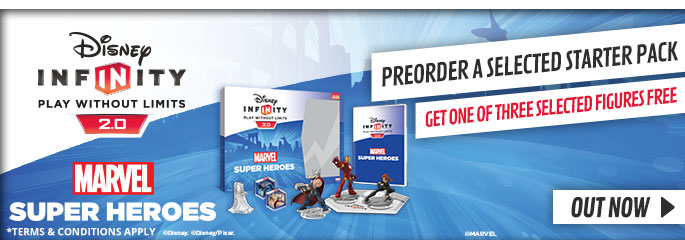 Disney Infinity 2.0 Preorder Bonus - Preorder Now at GAME.co.uk!