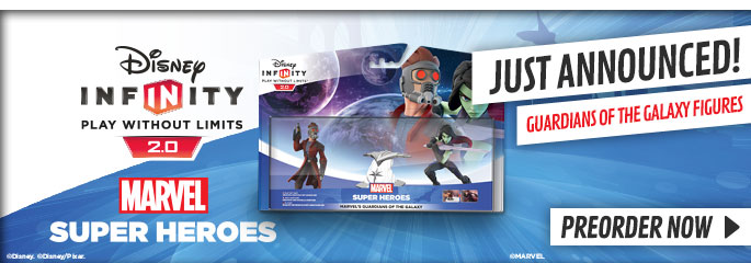 Disney Infinity 2.0 Guardians of the Galaxy for Nintendo WiiU - Preorder Now at GAME.co.uk!