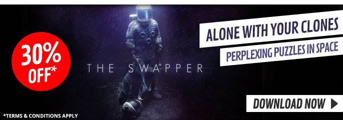 The Swapper for PlayStation Network - Downloads at GAME.co.uk!