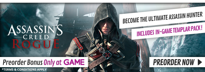 Assassin's Creed: Rogue for PlayStation 3 - Preorder Now at GAME.co.uk!