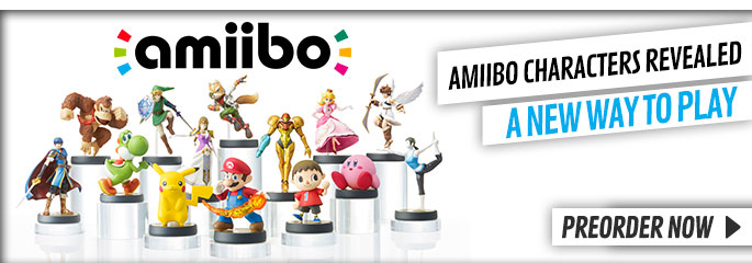 Amiibo for Nintendo WiiU - Find out More at GAME.co.uk!