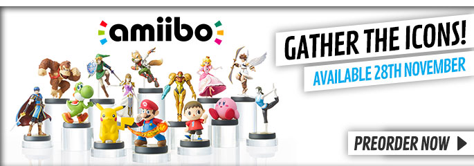 Amiibo for Nintendo Wii U - Preorder Now at GAME.co.uk!