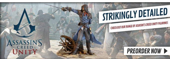 Assassin's Creed Unity Figurines - Buy Now at GAME.co.uk!