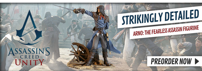 Assassin's Creed Unity Figure - Preorder Now at GAME.co.uk!