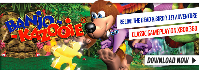 Banjo Kazooie for Xbox LIVE - Downloads at GAME.co.uk!