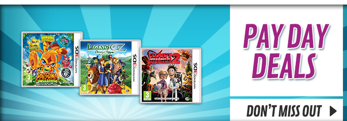 Bank Holiday Deals for Nintendo 3DS - Buy Now at GAME.co.uk!