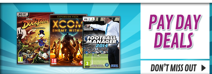 Bank Holiday Deals for PC - Buy Now at GAME.co.uk!