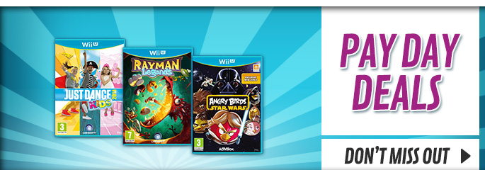 Bank Holiday Deals for Nintendo WiiU - Buy Now at GAME.co.uk!