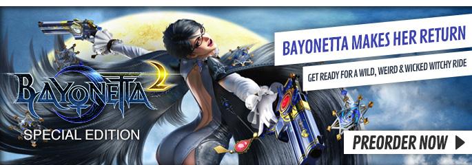 Bayonetta 2 for Nintendo WiiU - Preorder Now at GAME.co.uk!
