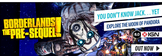 Borderlands: The Pre-Sequel for PlayStation 3  - Preorder Now at GAME.co.uk!