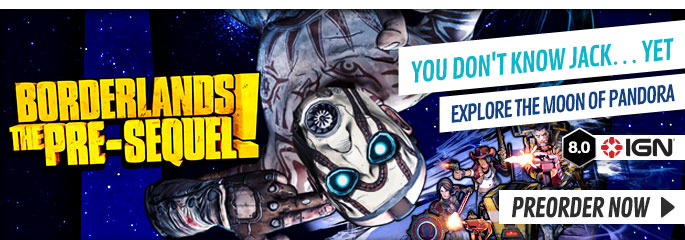 Borderlands: The Pre-Sequel for PC - Preorder Now at GAME.co.uk!