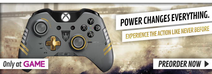 Call of Duty: Advanced Warfare Limited Edition Controller and DLC - Preorder Now at GAME.co.uk!