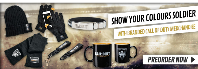 CODAW Merchandise - Preorder Now at GAME.co.uk!