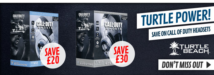 Turtle Beach Call of Duty Headsets - Save Now at GAME.co.uk