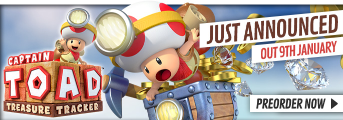 Captain Toad: Treasure Tracker for Nintendo WiiU - Preorder Now at GAME.co.uk!