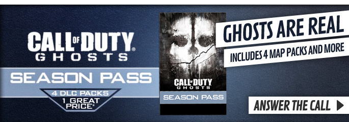Call of Duty Ghosts Season Pass for Xbox 360 - Order Now at GAME.co.uk!