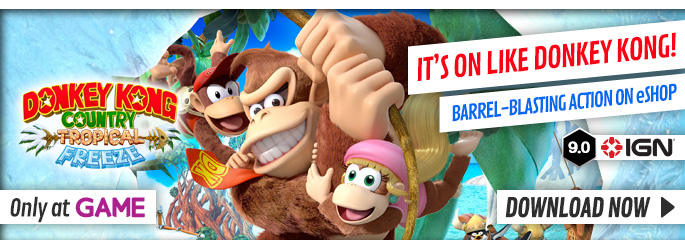 Donkey Kong: Tropical Freeze - Download Now at GAME.co.uk!