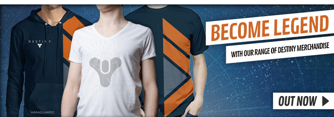 Destiny Merchandise - Preorder Now at GAME.co.uk!