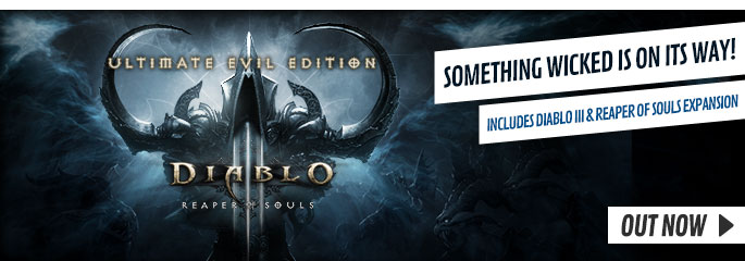 Diablo III Ultimate Evil Edition for PlayStation 3  - Preorder Now at GAME.co.uk!