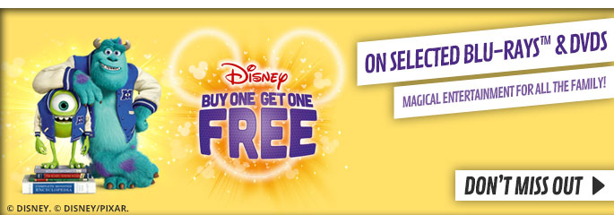 Disney Movie BOGOF - at GAME.co.uk