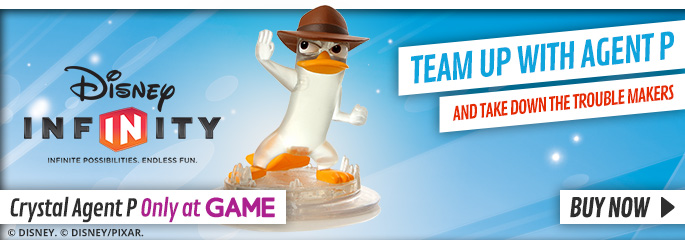 Disney Infinity Crystal Agent P for Nintendo Wii - Buy Now at GAME.co.uk!