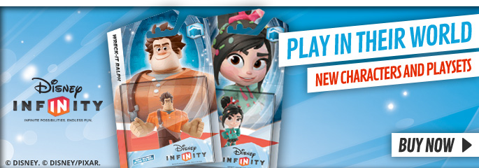 Disney Infinity New Characters - Order Now at GAME.co.uk!