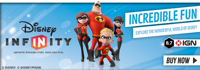 Disney INFINITY Starter Pack for Nintendo Wii - Order Now at GAME.co.uk!