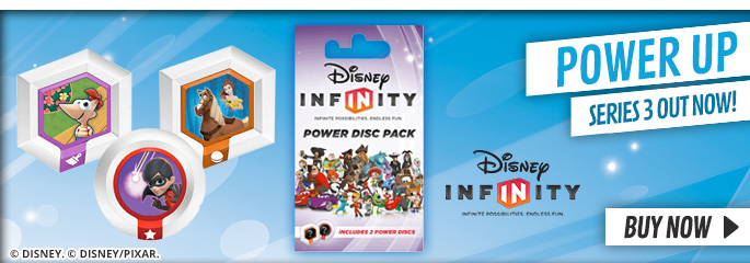 Disney Infinity Series 3 Power Discs - Buy Now at GAME.co.uk